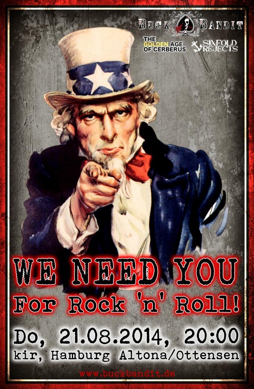 We need you. Kir Hamburg 21.08.2014